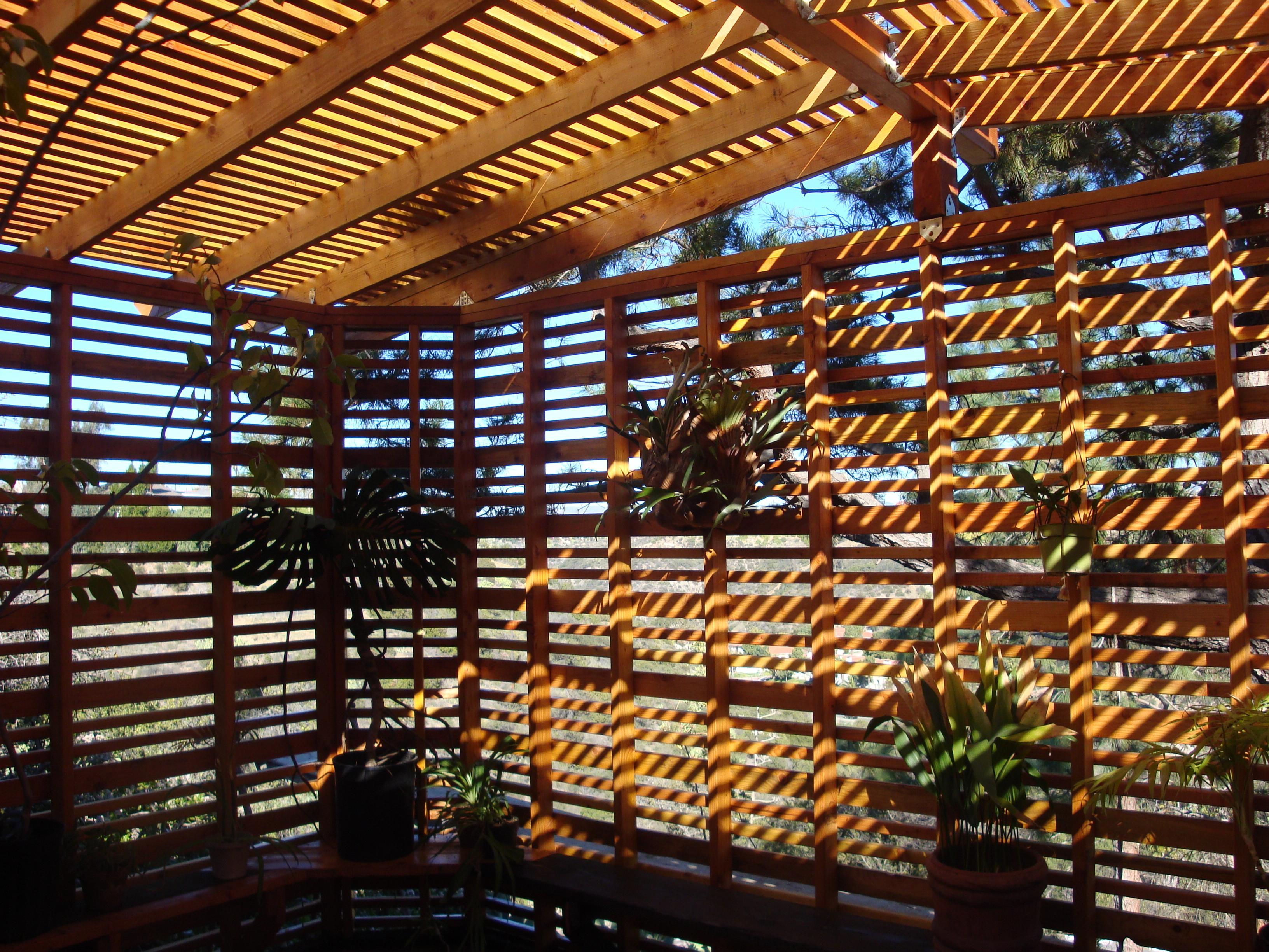 Orchid Lath House Peak Landscape Design