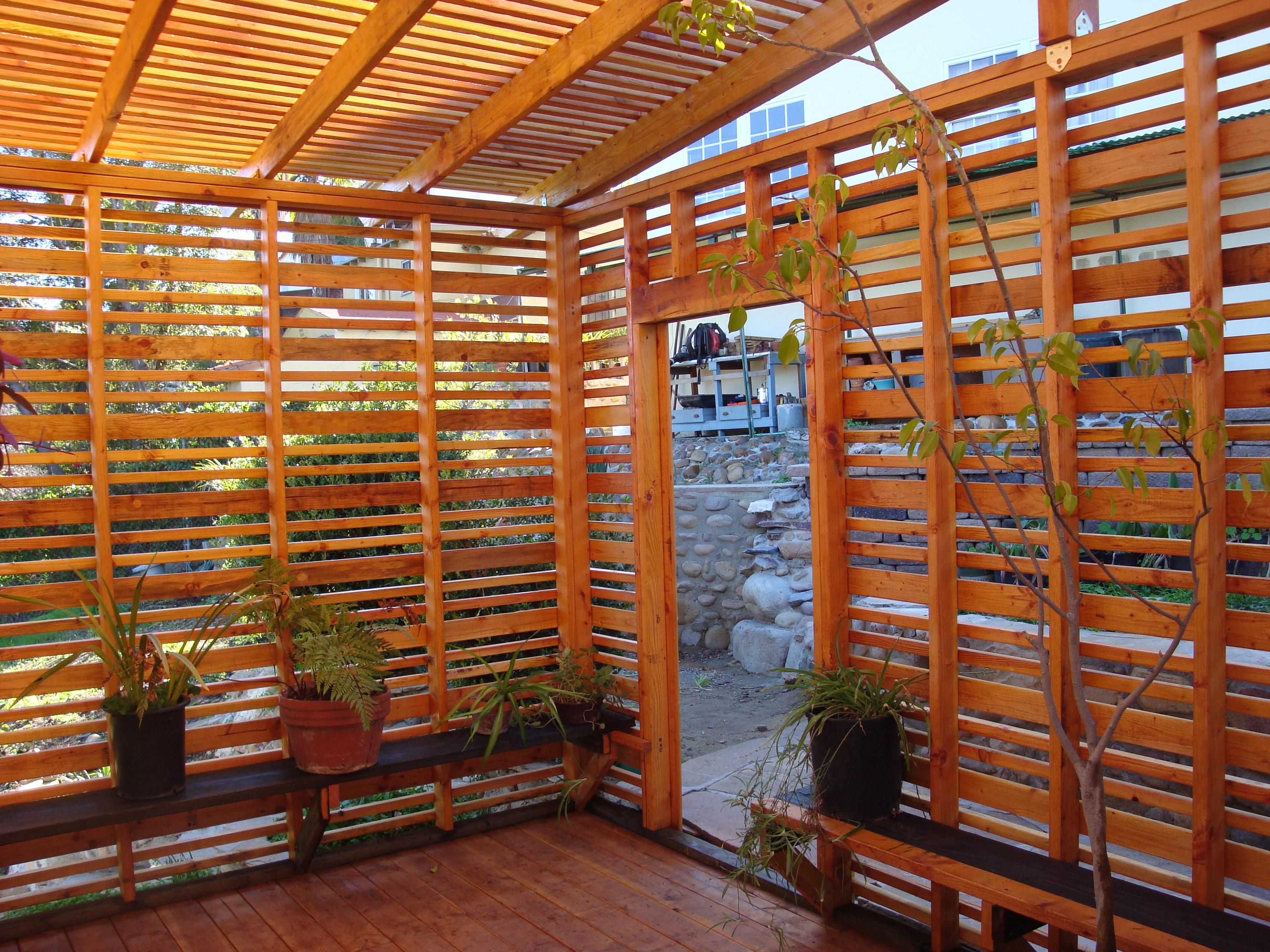 Kensington Orchid Lath House Peak Landscape Design